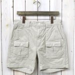 ENGINEERED GARMENTS『Ranger Short-14W Corduroy』(Ivory)