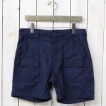 ENGINEERED GARMENTS『Ranger Short-Reversed Sateen』(Dk.Navy)