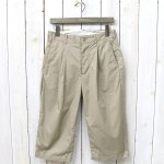 ENGINEERED GARMENTS『WP Half Pant-High Count Twill』(Khaki)