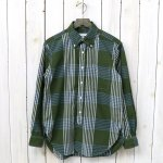 ENGINEERED GARMENTS『19th BD Shirt-Cotton Plaid』(Olive/Blue)