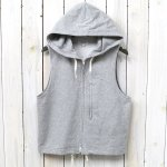 ENGINEERED GARMENTS『Knit Hoody Vest-French Terry』(Grey)