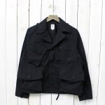 SOUTH2 WEST8『Tenkara Shirt-Wax Coating』(Black)
