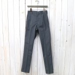 ANATOMICA『TRIM FIT PANTS』(GRAY)