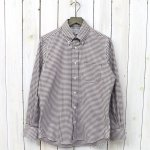 INDIVIDUALIZED SHIRTS『PINPPOINT OXFORD GINGHAM』(BROWN)