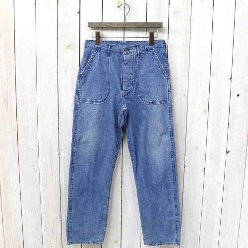 『US NAVY UTILITY PANTS』(3YEAR WASH)