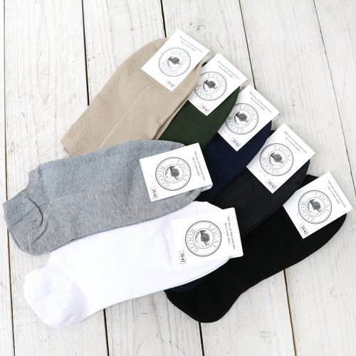 LOCAL ROOTS『PIQUE SNEAKER SOCKS』