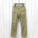 SASSAFRAS『FALL LEAF PANTS(T/C TWILL 65/35)』(BEIGE)