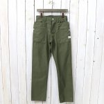 SASSAFRAS『FALL LEAF PANTS(BACK SATIN)』(OLIVE)
