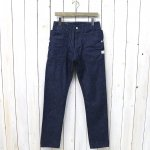 SASSAFRAS『FALL LEAF SPRAYER PANTS(10oz DENIM)』(INDIGO)