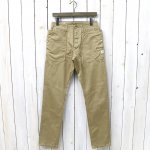 SASSAFRAS『FALL LEAF SPRAYER PANTS(WEST POINT)』(BEIGE)