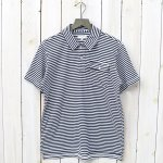 ENGINEERED GARMENTS『Knit Polo Shirt-St.Jersey』(Navy/White)