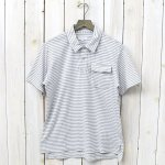 ENGINEERED GARMENTS『Knit Polo Shirt-St.Jersey』(Grey/White)