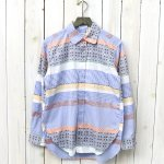ENGINEERED GARMENTS『Rounded Collar Shirt-Multi Color Pattern Block』
