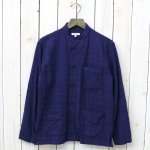 ENGINEERED GARMENTS『Dayton Shirt-Horizontal Jacquard』(Navy)