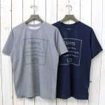 SOUTH2 WEST8『Crew Neck Tee-Fishing Life/Learn to fish』