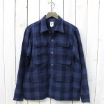 SOUTH2 WEST8『6 Pockets Classic Shirt-Linen Plaid』(Navy)