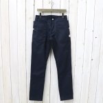 SASSAFRAS『FALL LEAF SPRAYER PANTS(T/C TWILL 60/40)』(NAVY)