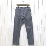 SASSAFRAS『FALL LEAF SPRAYER PANTS(T/C TWILL 60/40)』(HEATHER GRAY)
