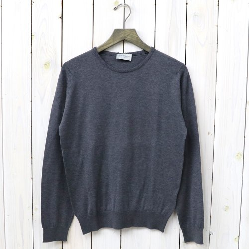 【SALE特価50%off】JOHN SMEDLEY『S3797-PULLOVER CN LS』(CHARCOAL)