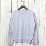 JOHN SMEDLEY『S3797-PULLOVER CN LS』(FEATHER GREY)