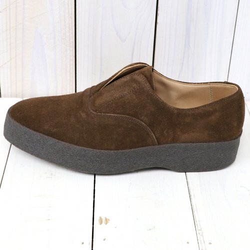 【SALE特価50%off】SANDERS『Oxford Deck Slip-On』(Snuff Brown)