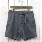 THE NORTH FACE PURPLE LABEL『Webbing Belt Denim Shorts』(Black Bleach)