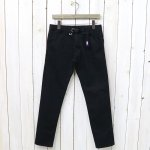 THE NORTH FACE PURPLE LABEL『Webbing Belt Denim Slim Pants』(Black)