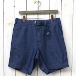 THE NORTH FACE PURPLE LABEL『Indigo Chambray Mountain Field Shorts』(Indigo)