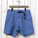 THE NORTH FACE PURPLE LABEL『Indigo Chambray Mountain Field Shorts』(Indigo Bleach)