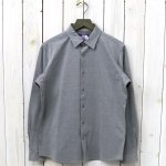 THE NORTH FACE PURPLE LABEL『Jersey Shirt』(Mix Gray)