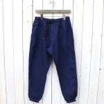 SOUTH2 WEST8『Belted Slack Pant-Linen Jean Cord』(Navy)