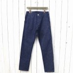SASSAFRAS『SPRAYER PANTS(10oz DENIM)』(INDIGO)