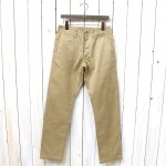 SASSAFRAS『SPRAYER PANTS(WEST POINT)』(BEIGE)