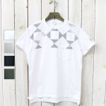 ENGINEERED GARMENTS『Printed Cross Crew Neck T-shirt-Diamond』