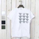 ENGINEERED GARMENTS『Printed Cross Crew Neck T-shirt-Triangle』