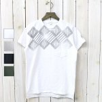 ENGINEERED GARMENTS『Printed Cross Crew Neck T-shirt-St.Diamond』