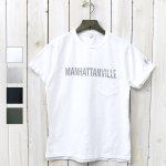 ENGINEERED GARMENTS『Printed Cross Crew Neck T-shirt-Manhattanville』