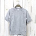 ENGINEERED GARMENTS『Short Sleeve Crew-Solid Jersey』(Grey)