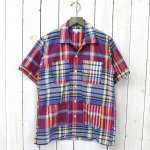 ENGINEERED GARMENTS『Camp Shirt-Big Plaid』(Blue/Yellow)