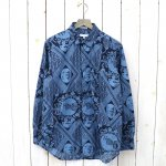ENGINEERED GARMENTS『Short Collar Shirt-Ethnic Print』
