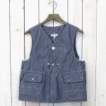 ENGINEERED GARMENTS『Upland Vest-Cone Chambray』
