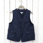 ENGINEERED GARMENTS『Upland Vest-7oz Cotton Twill』(Dk.Navy)