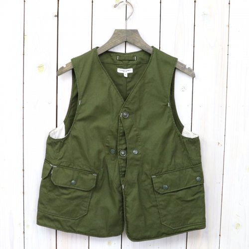 ENGINEERED GARMENTS『Upland Vest-7oz Cotton Twill』(Olive)