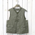 ENGINEERED GARMENTS『Upland Vest-Coated Linen』