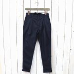 FWK by ENGINEERED GARMENTS『Willy Post Pant-High Count Twill』(Dk.Navy)