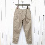【会員様限定SALE】FWK by ENGINEERED GARMENTS『Willy Post Pant-High Count Twill』(Khaki)