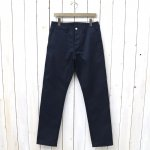 SASSAFRAS『SPRAYER PANTS(T/C TWILL 60/40)』(NAVY)
