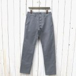SASSAFRAS『SPRAYER PANTS(T/C TWILL 60/40)』(HEATHER GRAY)
