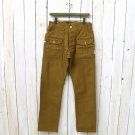 SASSAFRAS『BOTANICAL SCOUT PANTS(OXFORD)』(BROWN)