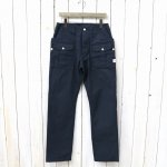 SASSAFRAS『BOTANICAL SCOUT PANTS(OXFORD)』(NAVY)